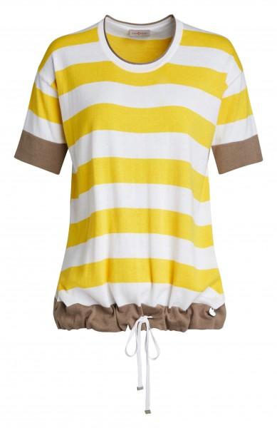 Damen-Pullover von yourConcept mit Halbarm und Rundhals