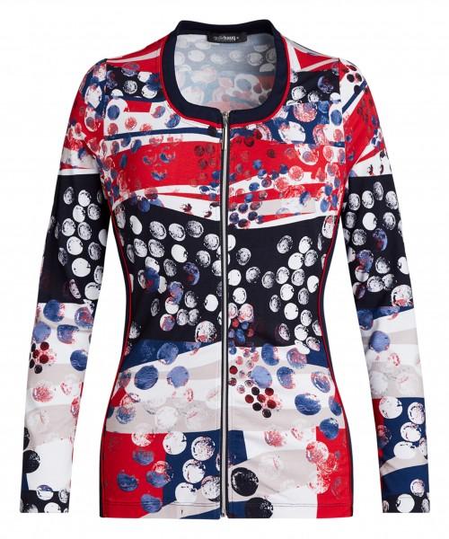 Bedruckte Jersey-Jacke von golléhaug für Damen