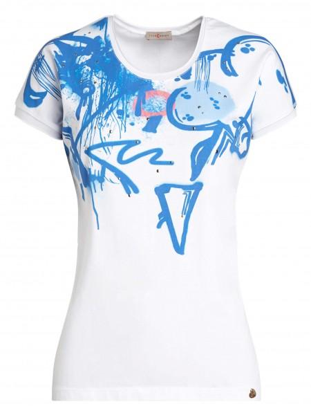 Lässiges Damen-Shirt von yourConcept mit überschnittener Schulter