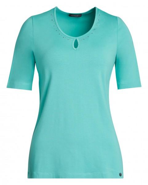 Damen-Shirt von golléhaug mit Halbarm und Rundhals