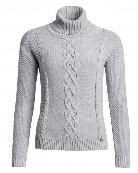 Pullover, Rollkragen, Zopfmuster
