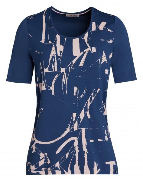 Attraktives Damen-Shirt von yourConcept mit Halbarm und Rundhals