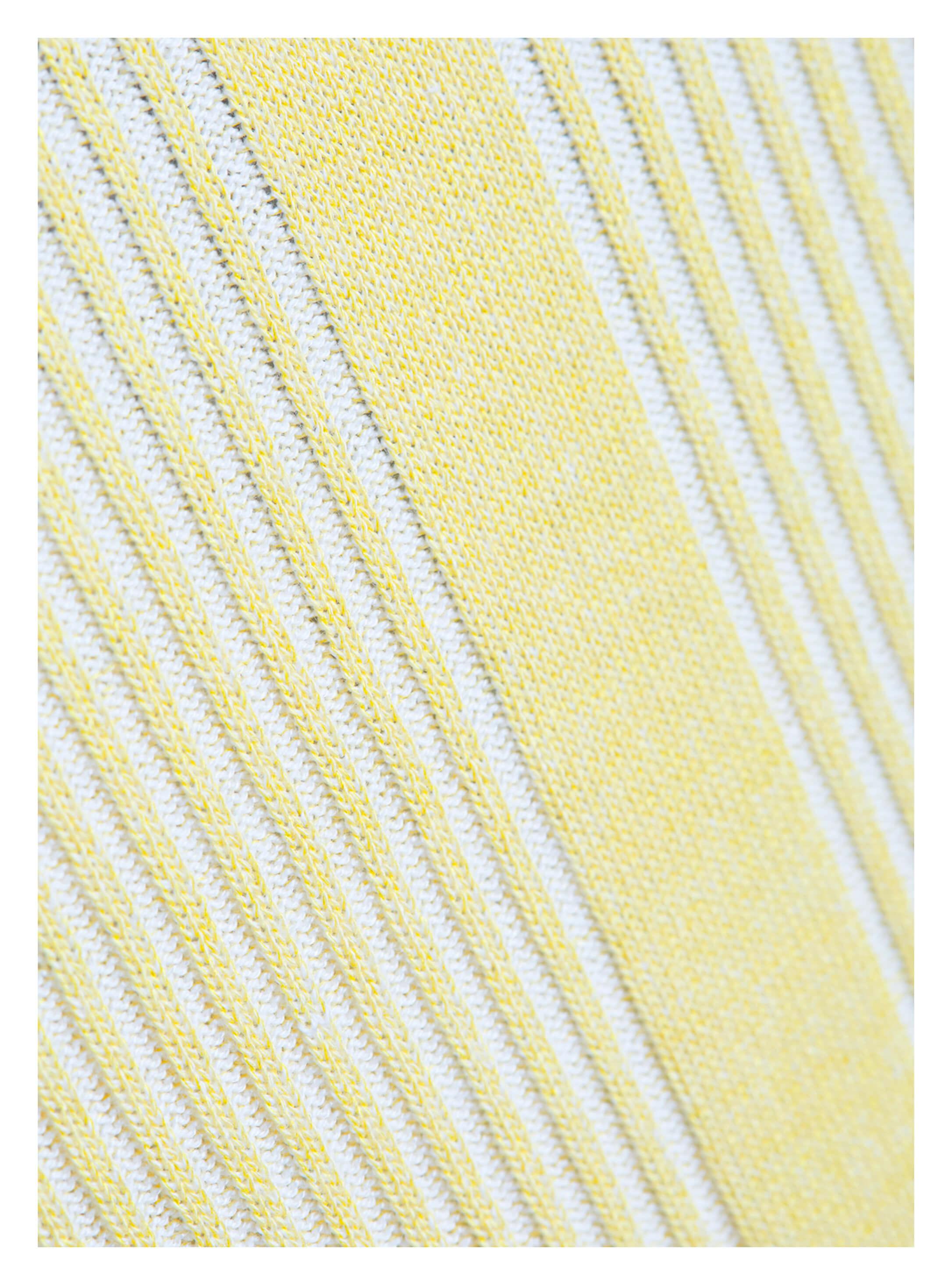33d6852bc77fc4 ... Vorschau: Gelber Damen-Pullover von yourConcept mit Langarm und V- Ausschnitt