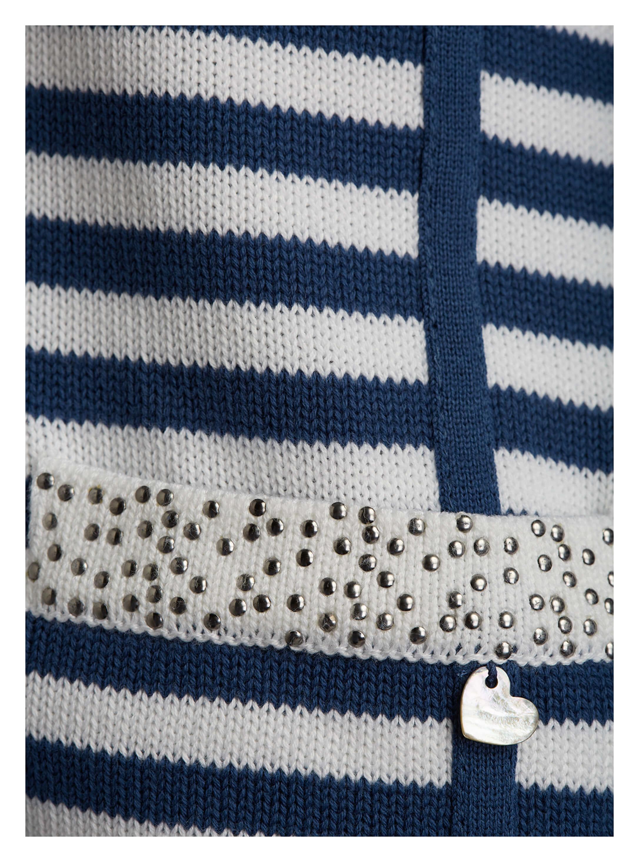 ef09b688233382 ... Vorschau: Modische Damen-Strickjacke von yourConcept mit Langarm und V- Ausschnitt