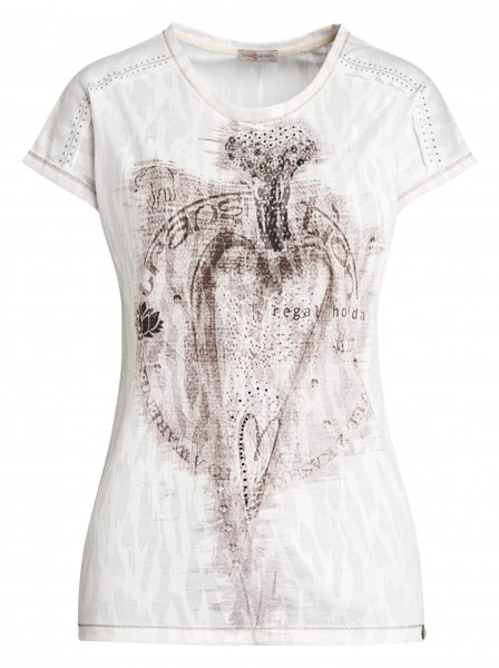 Edles Damen-Shirt von yourConcept mit überschnittener Schulter