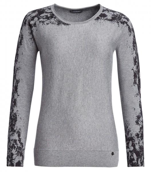 Pullover, Rundhals, bedruckt