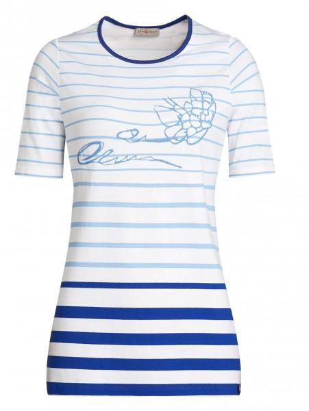 Modernes Damen-Shirt von yourConcept mit Halbarm und Rundhals