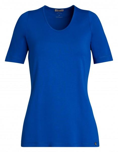 bequemes Damen-Shirt von yourConcept mit Halbarm und Rundhals