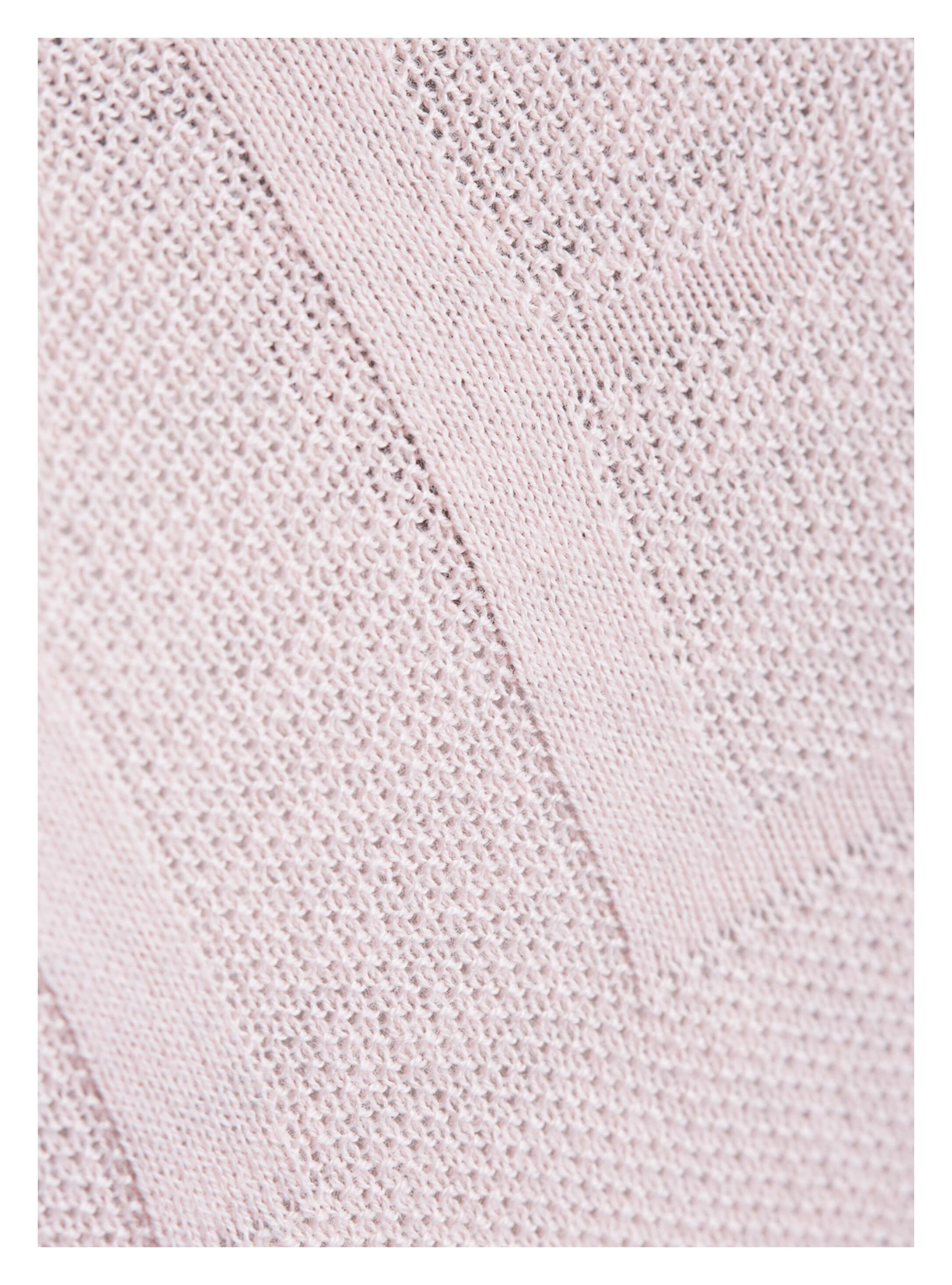df2a94bda1517f ... Vorschau: roséfarbener Damen-Pullover von yourConcept mit Halbarm und V- Ausschnitt