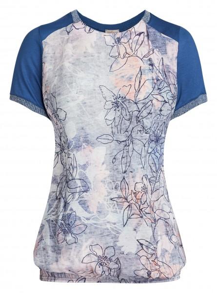 Lässiges Damen-Shirt von yourConcept mit Halbarm und Rundhals