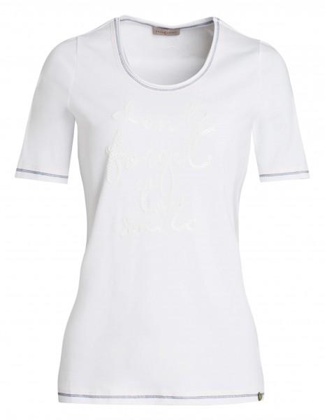 Schönes Damen-Shirt von yourConcept mit Halbarm und Rundhals
