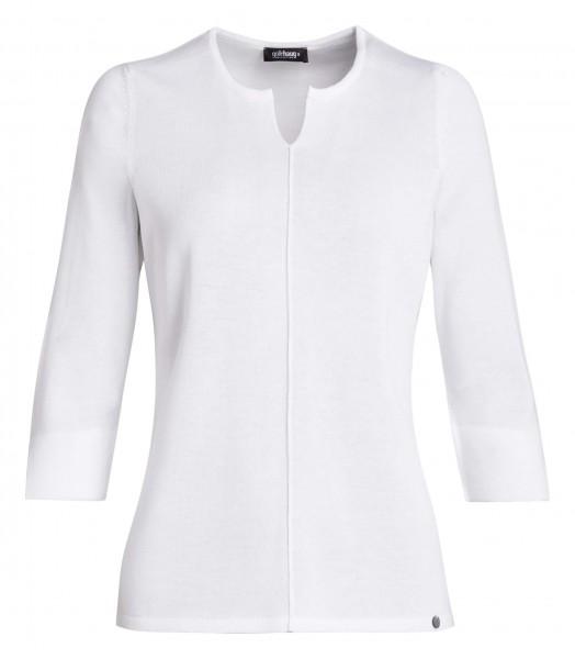 weicher Damen-Pullover von golléhaug mit 3/4 Arm und Rundhals