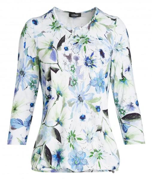 Damen-Shirt von golléhaug mit 3/4 Arm und Rundhals