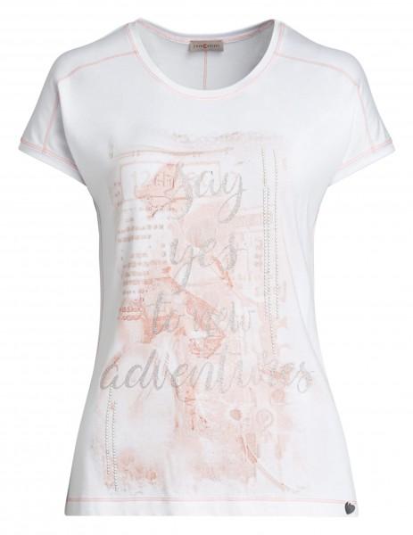 Edles Damen-Shirt von yourConcept mit Rundhals
