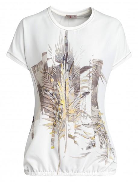 Apartes Damen-Shirt von yourConcept mit überschnittener Schulter