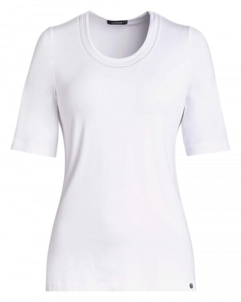 Basic-Shirt für Damen von golléhaug in weiß