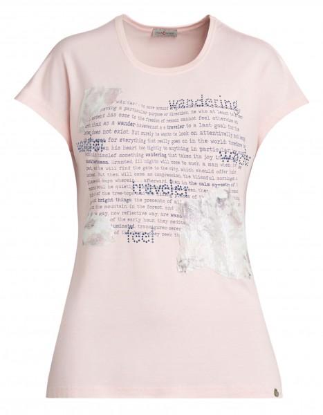 Angesagtes Damen-Shirt von yourConcept mit überschnittener Schulter