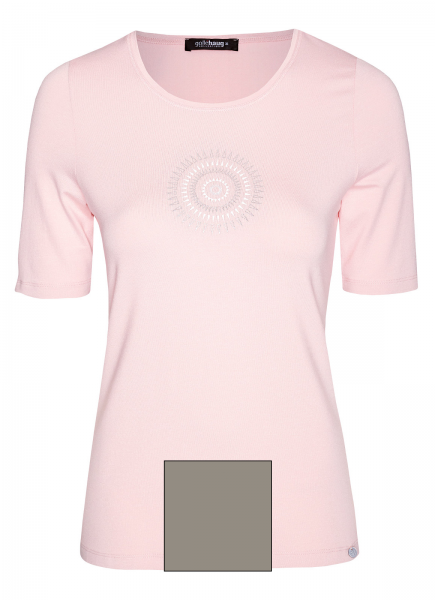 T-Shirt, Rundhals, Kurzarm, Motiv