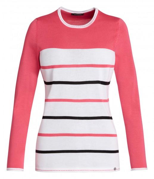 Damen-Pullover von golléhaug mit Langarm und Rundhals