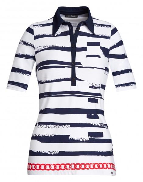 Damen-Polo-Shirt von golléhaug mit Halbarm