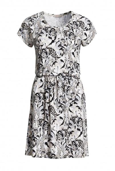 Jersey-Kleid übersch
